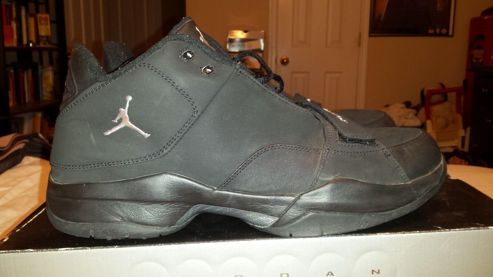 Men's Size 11.5 Air Jordan Tru Speed 2006 RARE LIKENEW Bred Concord Cement Retro