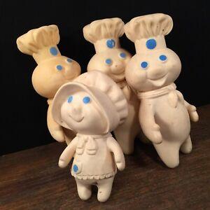 Vintage 1971 Pillsbury Doughboy Figure Collectible Advertising Fun Kitchen Decor Poppin Fresh