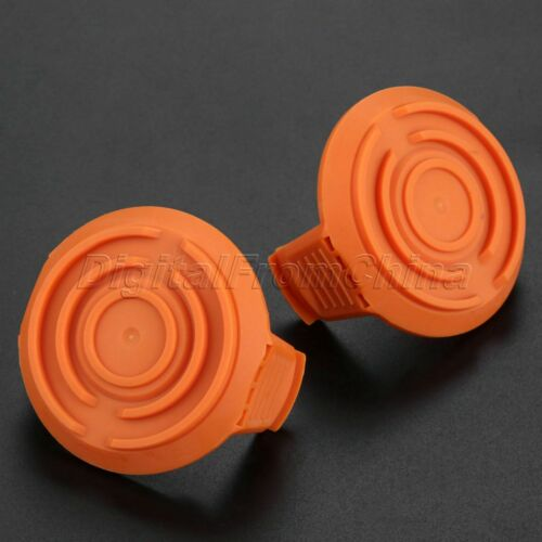 2x Spool Covers Orange For WORX WA6531 WG151 WG152 WG166 WG167 50006531 Parts
