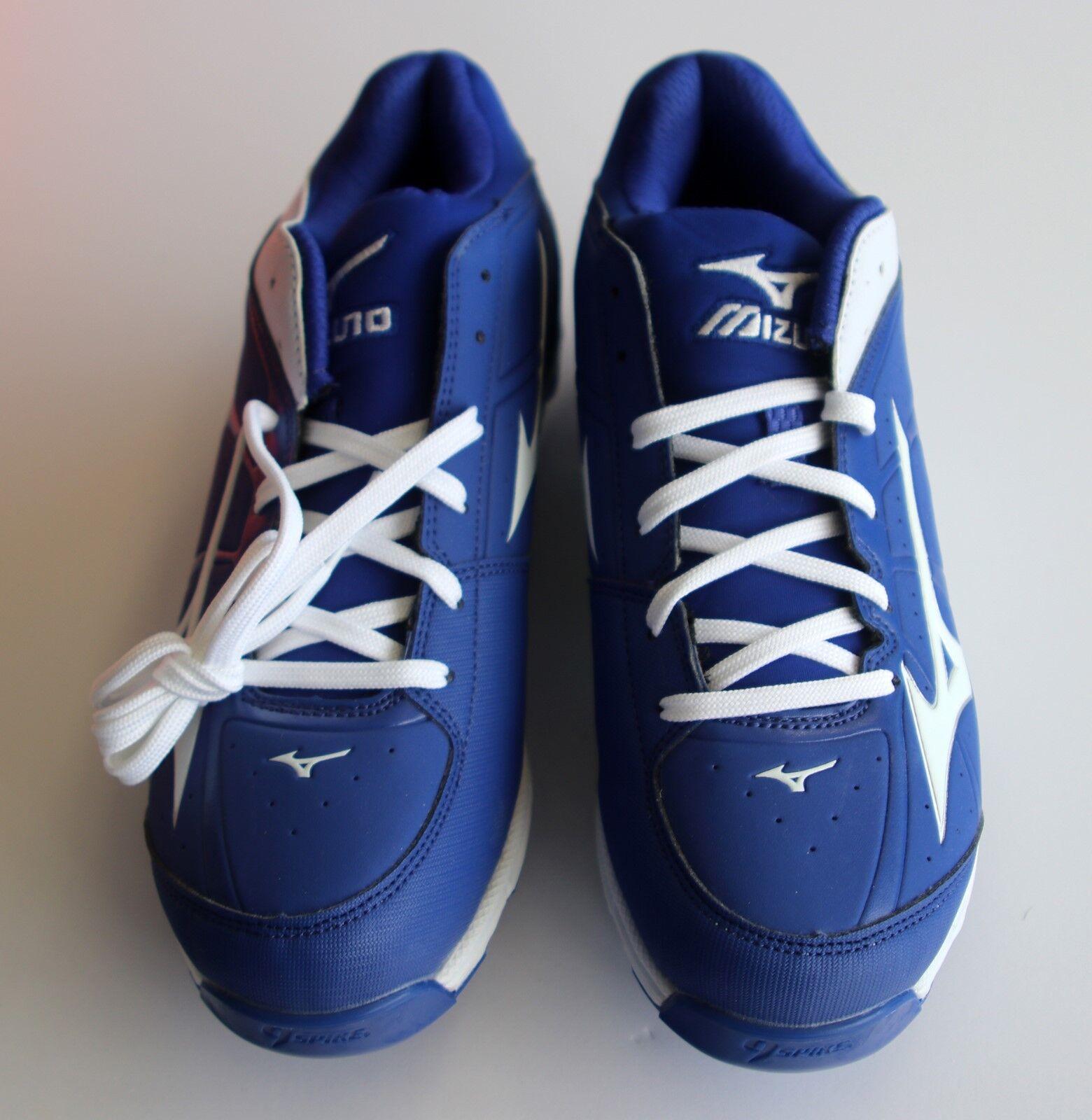 Señoras Softbol Sneekers, nuevo, inusitado, Talla 8, azul y blancoo