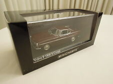 Minichamps Volvo P 1800 S Coupe Dark Red 1/43 Scale New in Box Ships From USA