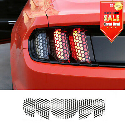 Ford Mustang Car Decoration bn Rear Tail light Lamp honeycomb Stickers For 15