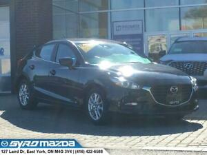 2018 Mazda 3 GS CERTIFIED PRE-OWNED! GS FWD AUTOMATIC! BLUETO...