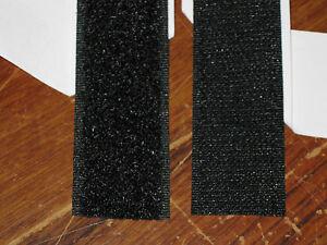 5mtr-x-25mm-Black-ADHESIVE-HOOK-LOOP-tape-Good-grip-bond