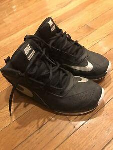 Nike Basketball Black Boys Kids Youth Sneakers Shoes Size 5 5y Children Ebay