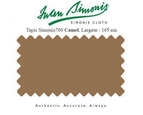 Tapis drap de billard 7Ft 210x165 US Simonis 760  camel  bas prix