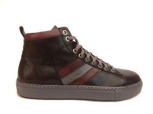 Inverno Shoes Exton Bordoeaux Scarpe Nero Alte Uomo Sneakers 521 Fzwnw8qU