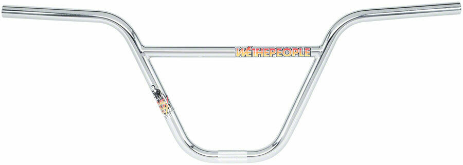 We The People 9.5  25.4mm Clamp Mad Max Gaertig Signature Handlebar Chrome