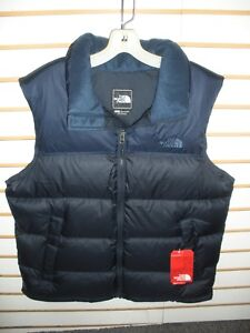 3fb2cd63e3 THE NORTH FACE MENS NUPTSE 700 FILL DOWN VEST- JACKET-A33QD-U NAVY-S ...