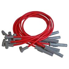 MSD Spark Plug Wire Set 31369; Super Conductor 8.5mm Red HEI for Chevy BBC