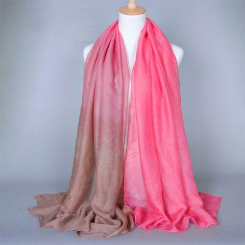 Womens Vintage Soft Winter Pashmina Scarf  Cashmere Wool Lardge Neck Shawl Wraps