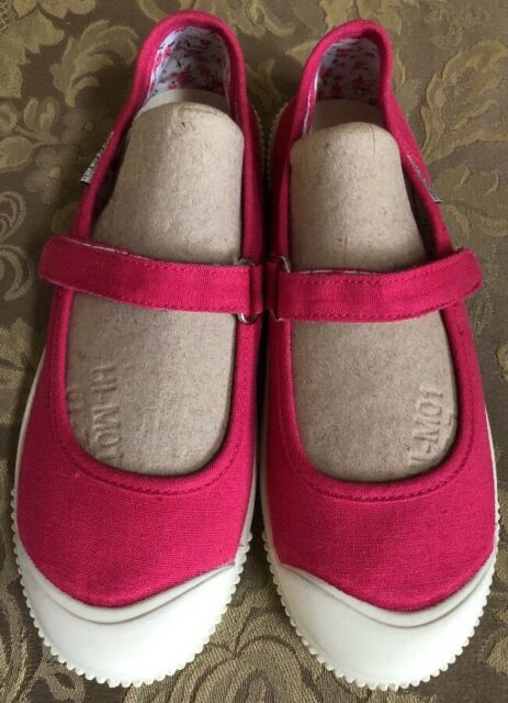Keen Vulcanized Washable Canvas Pink Mary Jane Flats Sz 6M 22.5cm