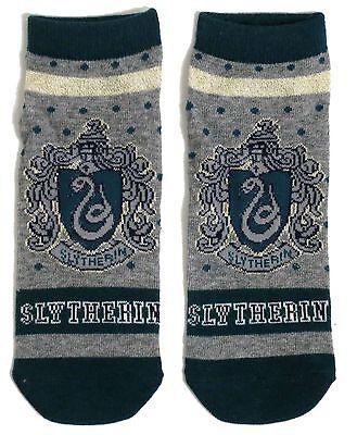 Slytherin Damen Harry Potter School House Schuh-Liner Socken Uk 08.04 Usa 6-10