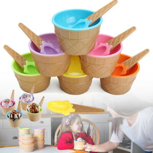6-Pcs-Kids-Child-Ice-Cream-Bowls-Spoon-Cup-Set-Durable-Dessert-Heat-Insulation