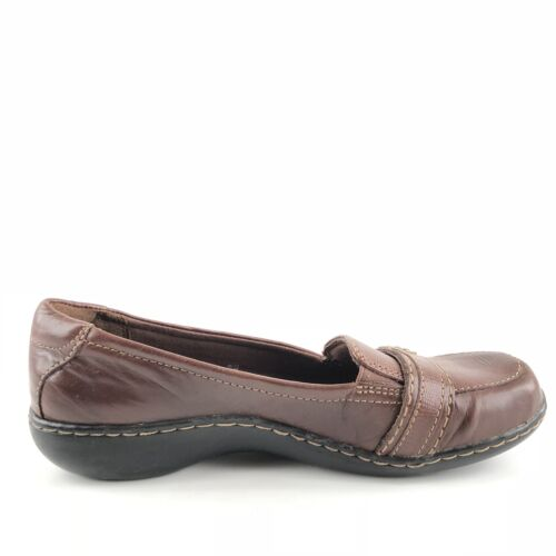 5 Wedge Loafers Leren 9 Artisan Dames On Slip Maat M Clarks Brown 1qtvwYpp