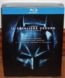 El-Dark-Knight-la-Trilogie-3-Blu-Ray-Neuf-Castillan-Action-sans-Ouvrir-R2