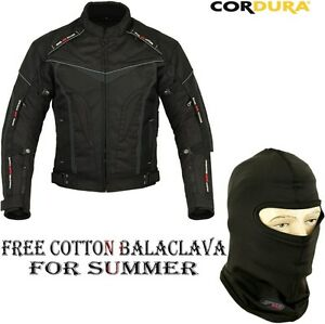 BLACK-HAWK-MENS-ALL-WEATHERS-CE-ARMOURS-MOTORBIKE-MOTORCYCLE-TEXTILE-JACKET