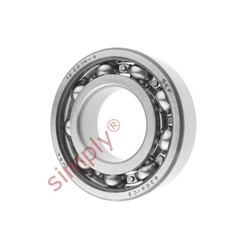 SKF 6206c3 Open Deep Groove Ball Bearing 30x62x16mm