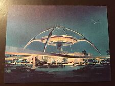 Los Angeles International Airport - LAX - - Los Angeles, Ca. collectors postcard