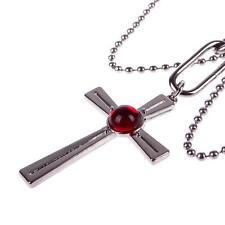 Fashion Cosplay Rosario + Vampire RosaVam Moka Akashiya Cross Necklace