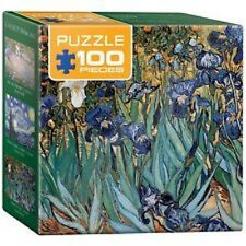 Eurographics Puzzle (Mini) 100 PC-Vincent Van Gogh Iris
