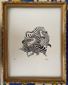 Victor-Vasarely-Lithographie-signee-et-numerotee