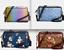 NWT-Coach-BENNETT-Crossbody-Bag-Denim-Floral-Ombre-Leather-satchel-tote-handbag thumbnail 1