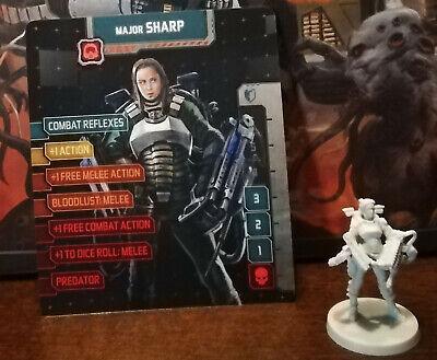 Zombicide Invader Kickstarter Exclusive Survivor MAJOR SHARP