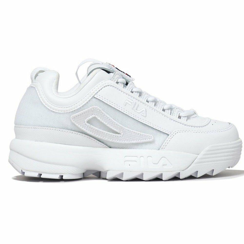 Schuhe Fila Disruptor II Patches Wmn Weiß Damen
