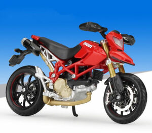 image is loading maisto-1-18-ducati-hypermotard-motorcycle-bike-model-