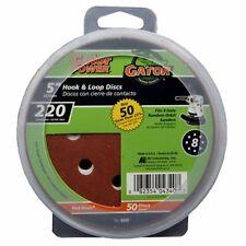 Ali Industries 4340 50-Pack 5-Inch 220-Grit Hook & Loop Sanding Disc - Quantity
