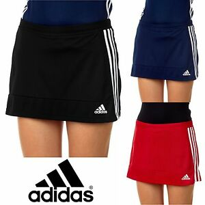 new concept 96a76 7bce6 Image is loading adidas-T16-Ladies-Hockey-Skort-CLIMALITE-Womens-Girls-