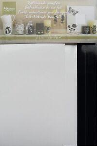 MARIANNE Design Decorazione - Fustella Alluminio Neri & Bianchi STA403 CONTENUTA