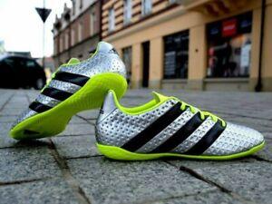 Adidas Ace 16.4 Metallic Silver Black