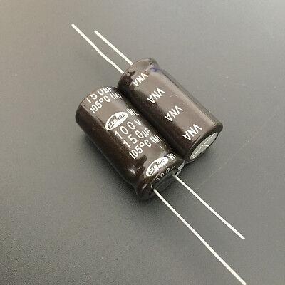 10pcs 1uF 400V 10x10mm Nichicon UB 400V1uF Electrolytic Capacitor For 125 use