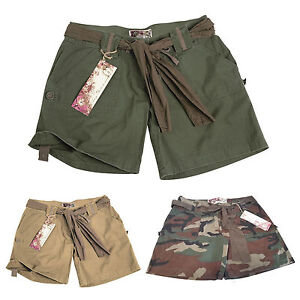 mil tec army shorts woman damen kurze hose hot pant ebay. Black Bedroom Furniture Sets. Home Design Ideas