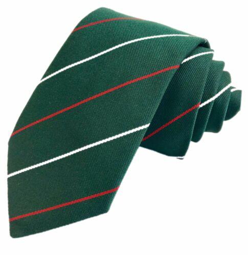 Light Infantry Regiment Regimental Woven Striped Tie Made In GB Pre1995