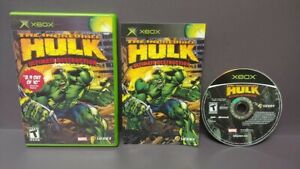 Incredible-Hulk-Original-Microsoft-Xbox-Game-Complete-1-Owner-Near-Mint-Disc