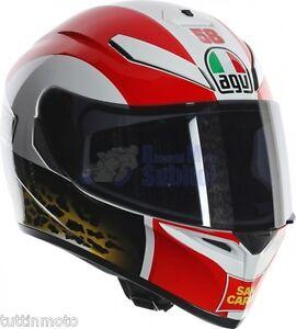 casco casque capacete helmet agv simoncelli sic 58 k3 sv k3 sv k 3 sv taglia ml ebay. Black Bedroom Furniture Sets. Home Design Ideas