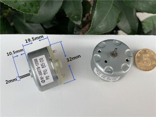Mabuchi RF-500TB-12560 Mini DC Motor DC 5V-12V 5500RPM 32mm Diameter DC Motor