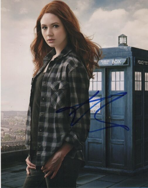 Karen Gillan Doctor Who Autographed Signed 8x10 Photo COA #4
