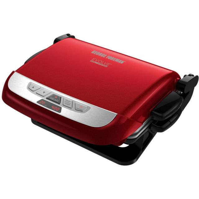 Kitchen & Dining George Foreman 5-Serving Multi-Plate Evolve Grill ...