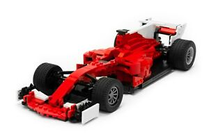 Lego Ferrari Sf70h Formula 1 F1 Race Car Custom Instructions Only Ebay