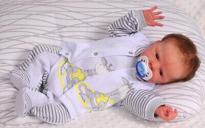 Strampler SET Baby 50 56 62 68 74 80 86 92 Stramlerhose Jäckchen Hemdchen Rosa