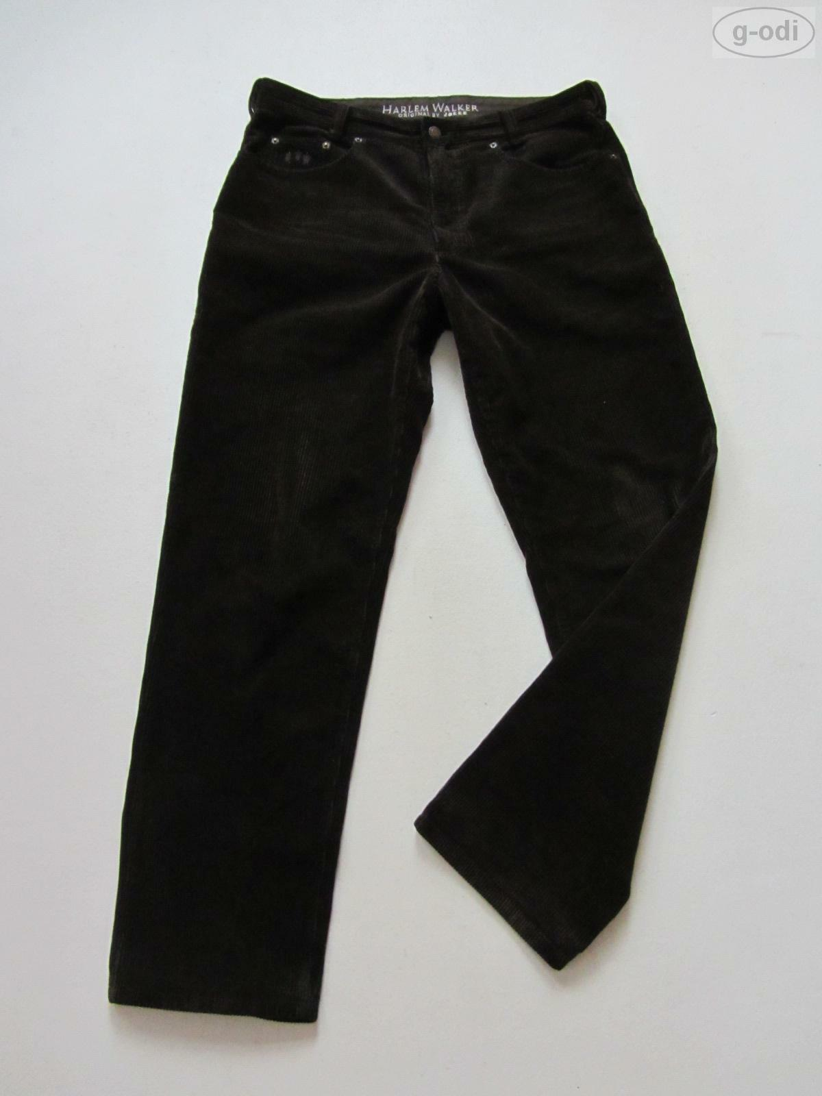 JOKER Jeans Harlem Walker Cord Hose W 34  L 32 braun TOP   robuste Cordhose
