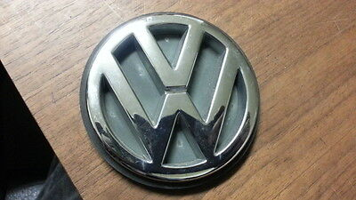 93-99 VW Jetta MK3 Trunk Emblem Badge Sign Chrome Genuine OEM 1H5 853 630 D