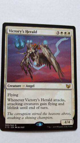 NM MTG Magic the Gathering Rare Commander 1x VICTORY/'S HERALD