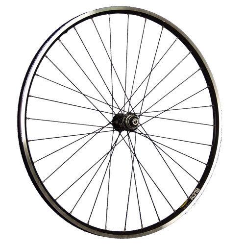 Taylor Ruedas 28inch Bicicleta Rueda Delantera A319 Con Shimano Deore Xt Disco Negro