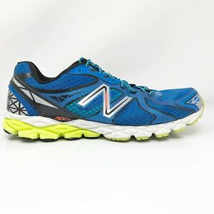 New-Balance-Mens-870-V3-M870BB3-Blue-Running-Shoes-Lace-Up-Low-Top-Size-12-2E