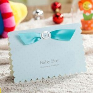Baby Boy Shower Invitation Cards With Cute 3d Pop Up Car